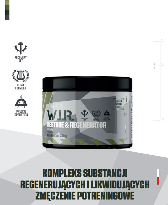 W.I.R. Restore and Regeneration Formula Trec Special Forces