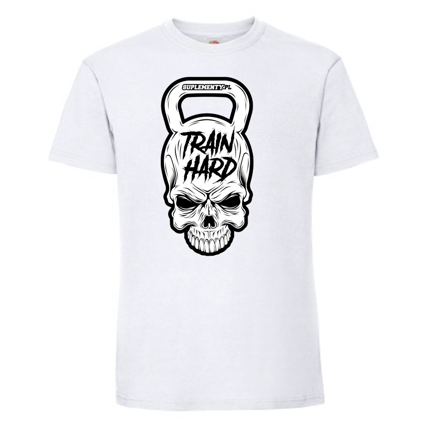 T-shirt na trening Train Hard Suplementy.pl
