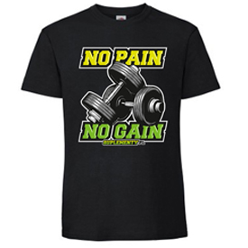 T-shirt na trening No Pain No Gain