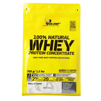 100% Natural Whey Protein Concentrate 700g