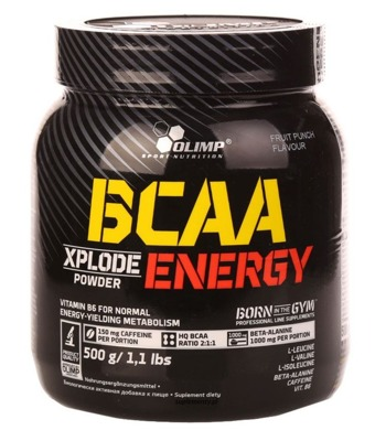 BCAA Xplode Energy Powder 500g