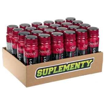L-carnitine SHOT 24 x 80 ml