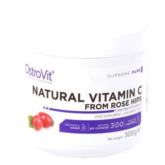 Natural Vitamin C From Rose Hips 300 g