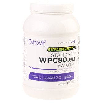Ostrovit WPC 80 900g Natural