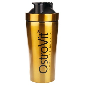 Shaker metalowy 750ml GOLD