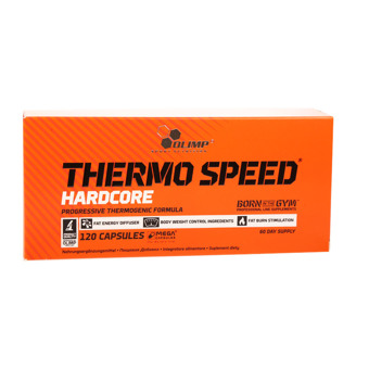 Thermo Speed® Hardcore 120 kaps.